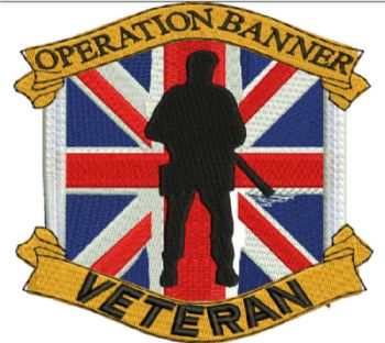 Operation Banner / Soldier Embroidered polo shirt
